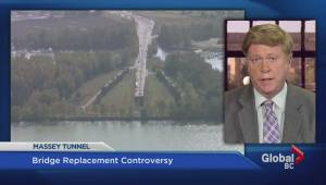 Massey tunnel: The premier says it's about safety