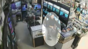 Florida man stuffing fish down pants in pet store theft caught on camera