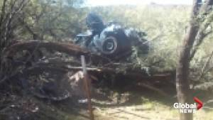 Woman survives 6 days in wrecked car after crash on Arizona's Route 60