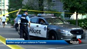 Toronto Police chief addresses spate of gun violence over long weekend