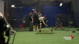 La Ronge baseball player driven to make dreams come true in Saskatoon