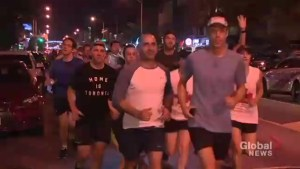 Night run held in support of Danforth following mass shooting