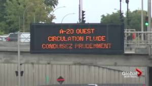Quebec to change highway signs to pictograms (02:09)