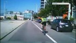 Caught on video: Altercation with Vancouver cyclist