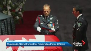 Canadians pay last respect to fallen Fredericton police officers