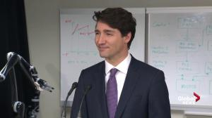 Prime Minister Trudeau reacts to news U.S. has approved Keystone XL