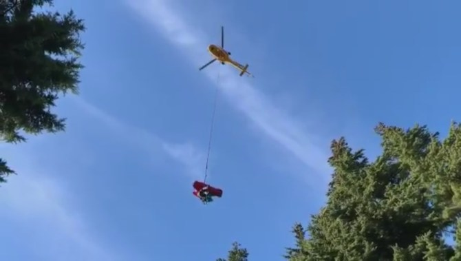 North Shore Rescue called to Dog Mountain trail for medical rescue