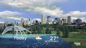 Edmonton early morning weather forecast: Monday, July 9, 2018