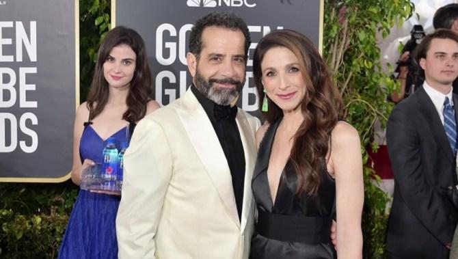 'Fiji Water girl' — a Canadian model — steals Golden Globes red carpet spotlight