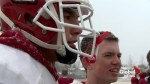 Talented Alberta high school athlete uses football and family to battle addiction