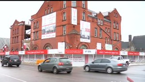 Delays in construction at the Y-Loft Apartments in Peterborough by a year and a half