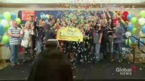 Group of longtime friends from Garson, Ont win $10 million Lotto Max jackpot