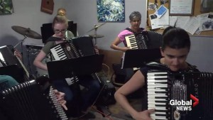 Elite Calgary accordion orchestra gaining recognition worldwide