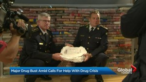 Massive drug bust amid call to action on Ontario opioid crisis