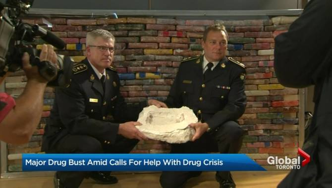Ontario police make largest drug bust in its history, seize