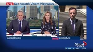 Alberta justice system failed sexual assault victim: Ganley