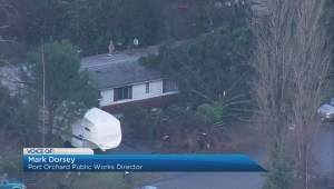 Rare tornado leaves path of destruction in Seattle suburb