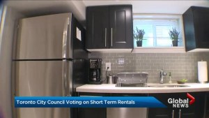Short-term rental regulations up for debate at Toronto city council