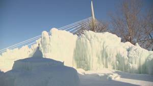 A magical, show stopping ice castle has taken over The Forks.
