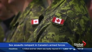 Sexual assault rampant in Canada's military