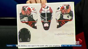 Edmonton boy hoping to win Hockey Canada goalie mask competition
