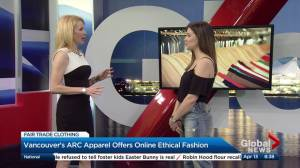 Ethical and fair trade spring fashion trends (05:38)