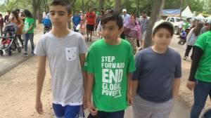 Regina walk raises money to help end global poverty