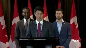 Canada Child Benefit to make 'real difference' for families: Trudeau (01:13)