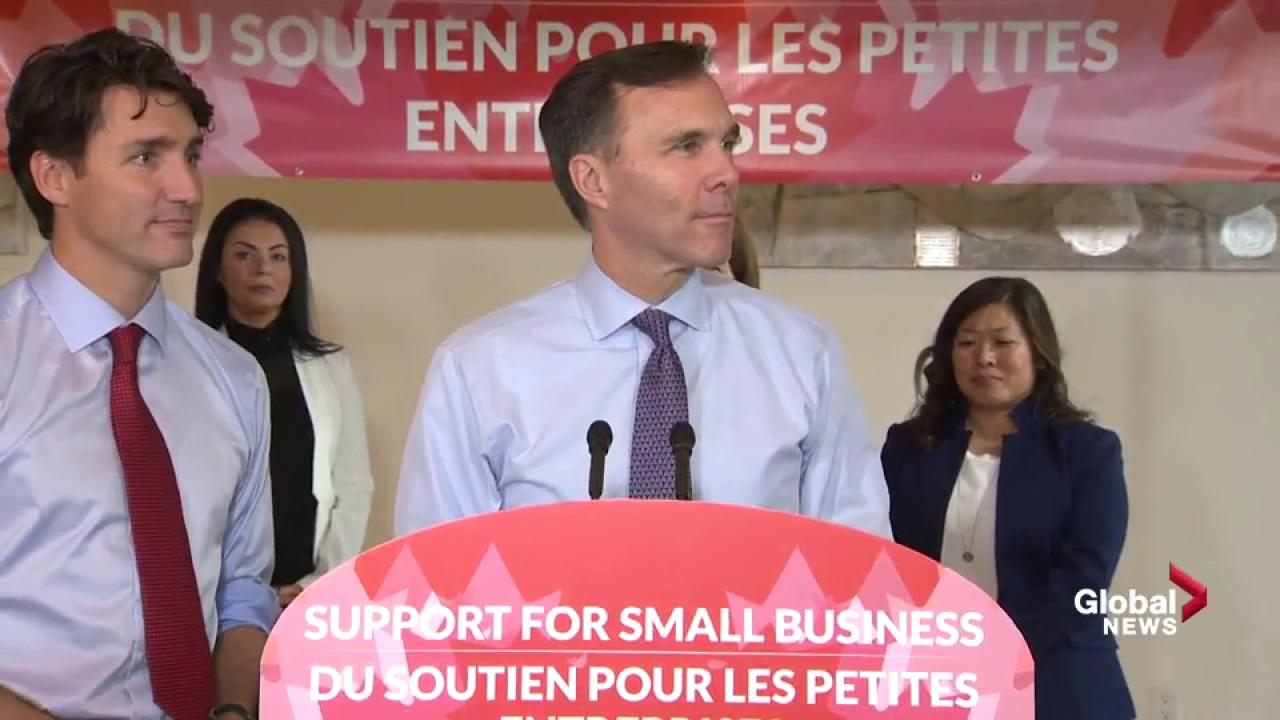 Morneau says he will put his assets in a blind trust