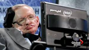 Stephen Hawking's voice rests in space