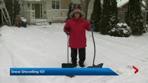 Snow shovelling 101: What you need to know