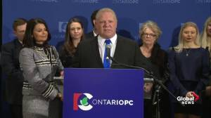 Doug Ford, Rob Ford's brother, wins Ontario PC leadership race