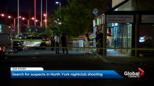 No arrests after several shot at Toronto nightclub