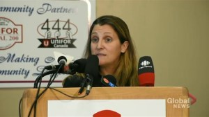 Freeland mum on what comes next now that Canadian officials have heard Khashoggi murder recording