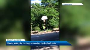 City of Toronto's policy for taking down basketball nets under review