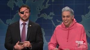 SNL's Pete Davidson apologizes to congressman-elect Dan Crenshaw in person
