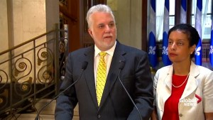 'Protectionist' tariffs on Bombardier will hurt American workers: Couillard