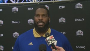RAW: Blue Bombers Stanley Bryant Interview – Nov. 22