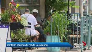 Danforth community reacts to mass shooting (02:10)