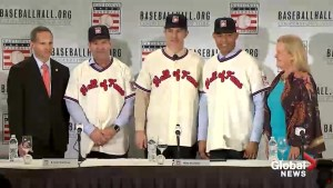 Roy Halladay, Edgar Martinez, Mike Mussina and Mariano Rivera newest members of Baseball Hall of Fame