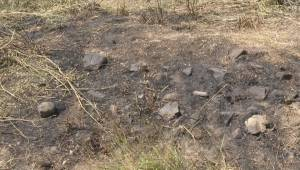 500 hectare blaze east of Kamloops now a smoldering grass fire (02:21)