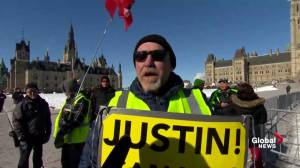 Convoy member says movement not about immigration, it's about 'building Canada'