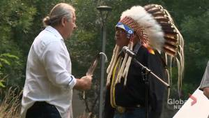 Bret 'The Hitman' Hart given traditional Blackfoot name: 'Courageous Chief'