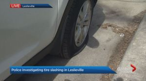 Resident's tires slashed in Leslieville neighbourhood