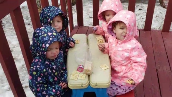 Alberta quadruplets 'healthy and happy' as they turn 3