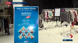 See what's up for grabs at the Global Edmonton wardrobe sale