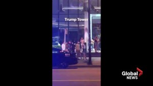 Police presence gathers at Trump Tower in Vancouver, then disperses