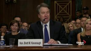 Crying Brett Kavanaugh says his meticulous calendars exonerate him of rape allegation