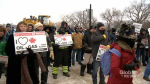 Sask. pemier speaks at Rally 4 Resources