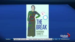 Katherena Vermette talks about her book, The Break